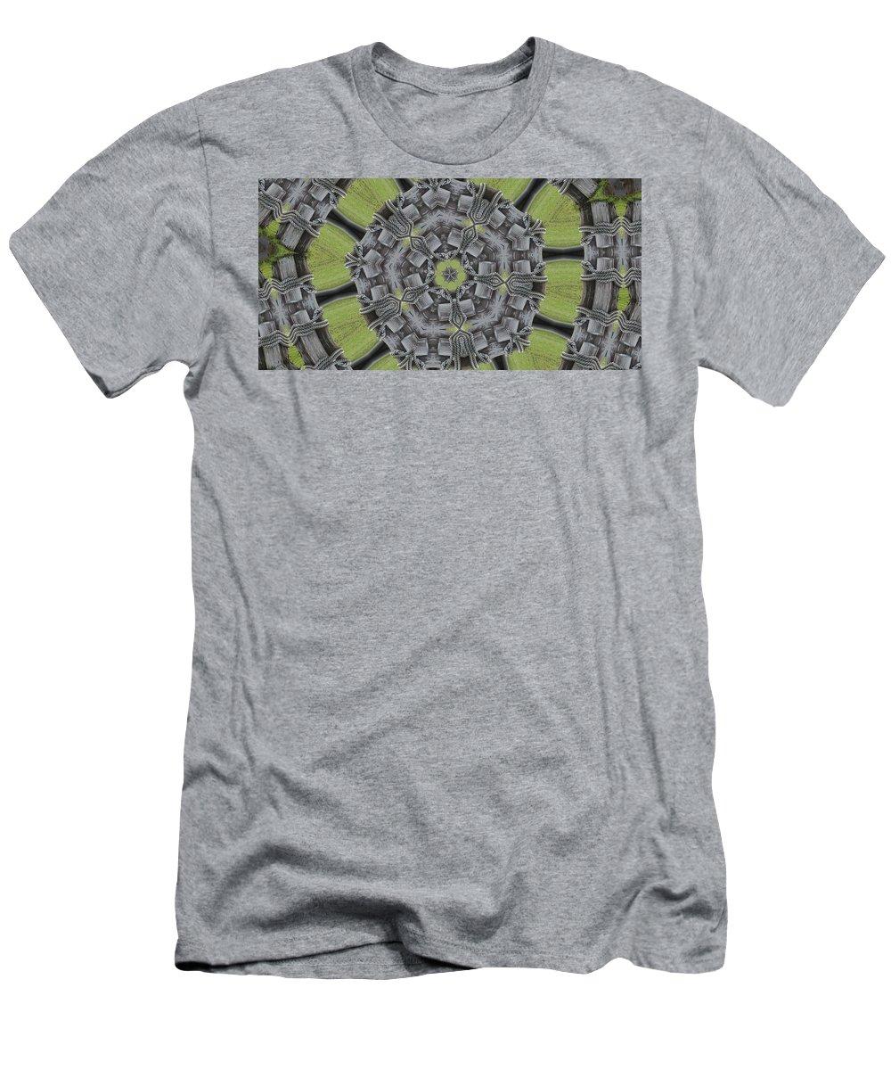 Bulkhead Men's T-Shirt (Athletic Fit) featuring the photograph Bulkhead by Trish Tritz