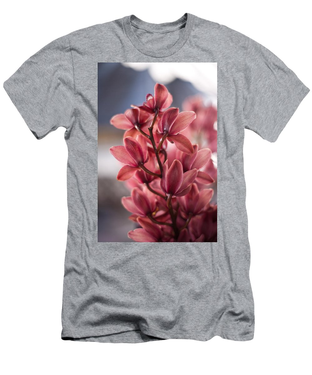 Tropical Men's T-Shirt (Athletic Fit) featuring the photograph Cascading Beauty by Mike Reid