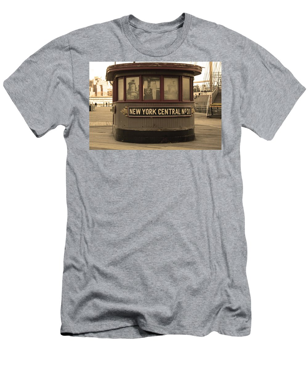 City Men's T-Shirt (Athletic Fit) featuring the photograph City 0054 by Carol Ann Thomas