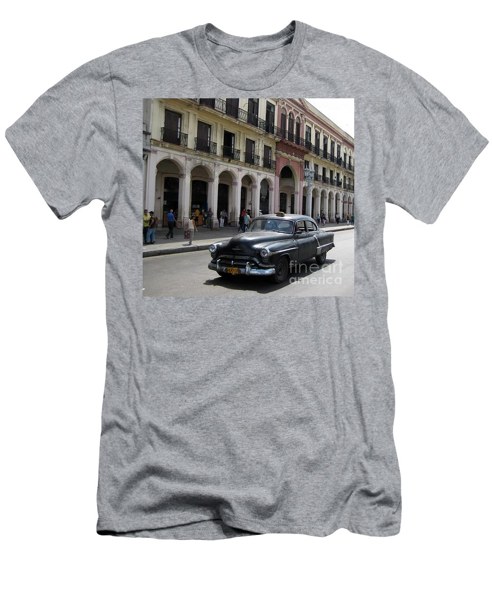 Cars Men's T-Shirt (Athletic Fit) featuring the photograph Classic Automobiles by John Malone