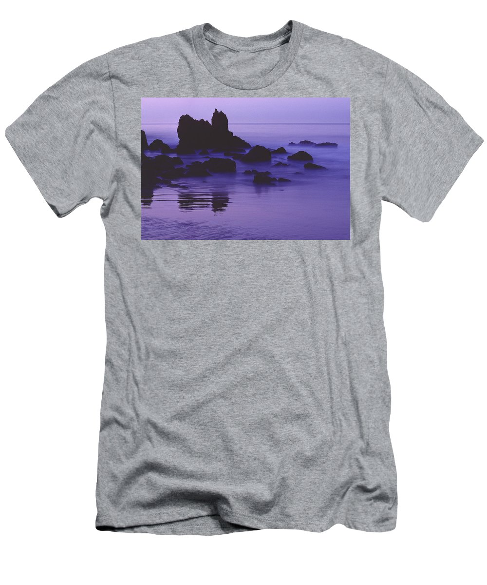 Corona Del Mar Men's T-Shirt (Athletic Fit) featuring the photograph Corona Del Mar 5 by Mark Greenberg