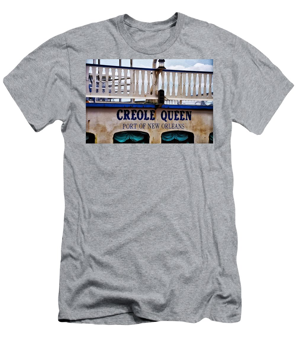 Creole Queen Men's T-Shirt (Athletic Fit) featuring the photograph Creole Queen by Bill Cannon