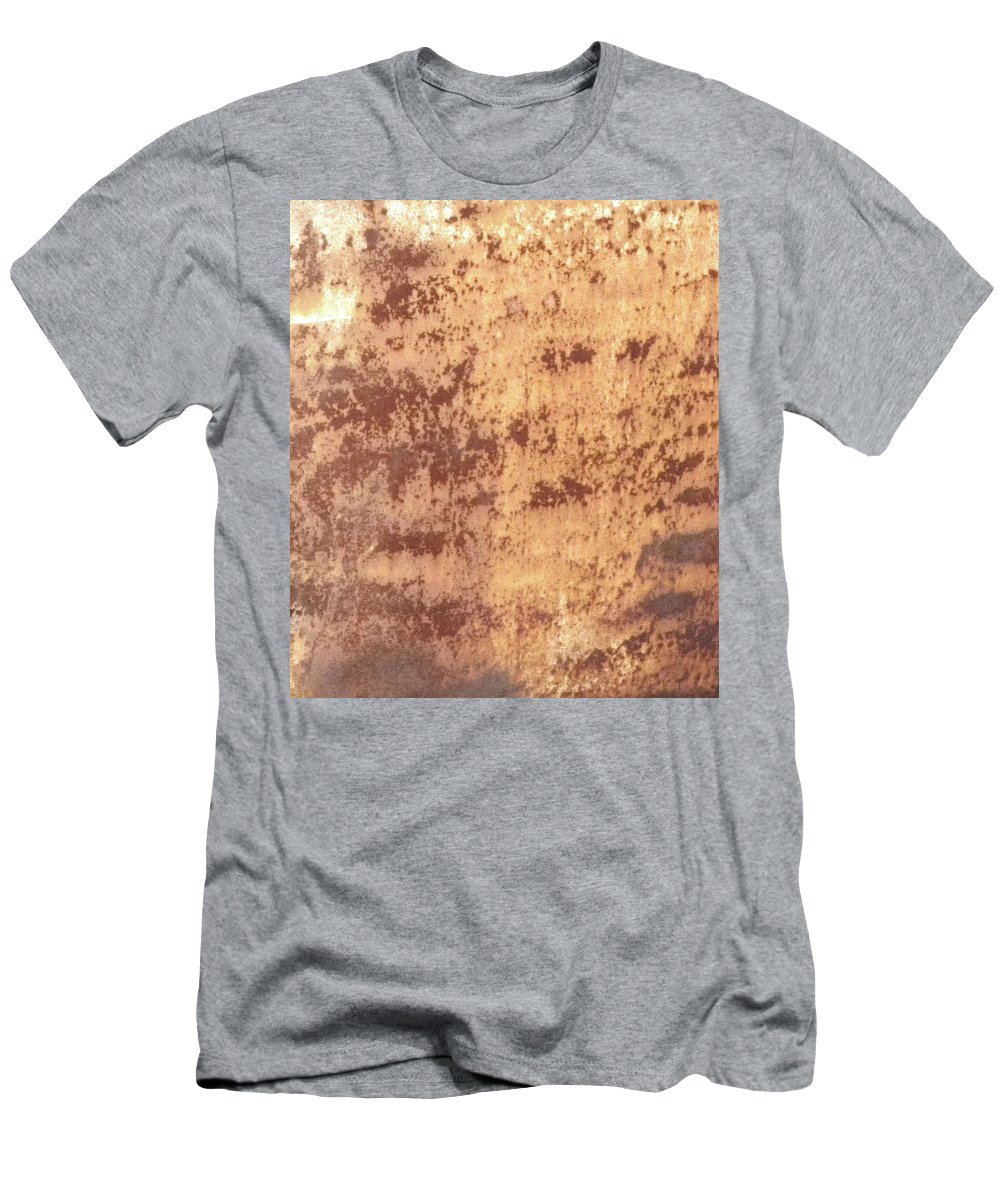 Abstract Men's T-Shirt (Athletic Fit) featuring the photograph Designed By Time by Wayne Potrafka