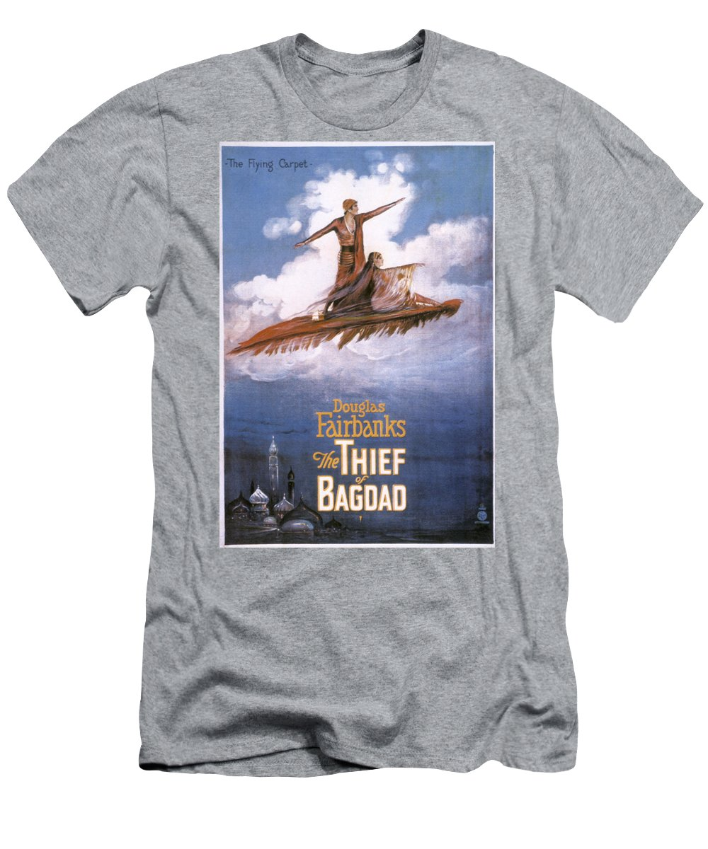 -nec05- Men's T-Shirt (Athletic Fit) featuring the photograph Film: The Thief Of Bagdad: by Granger