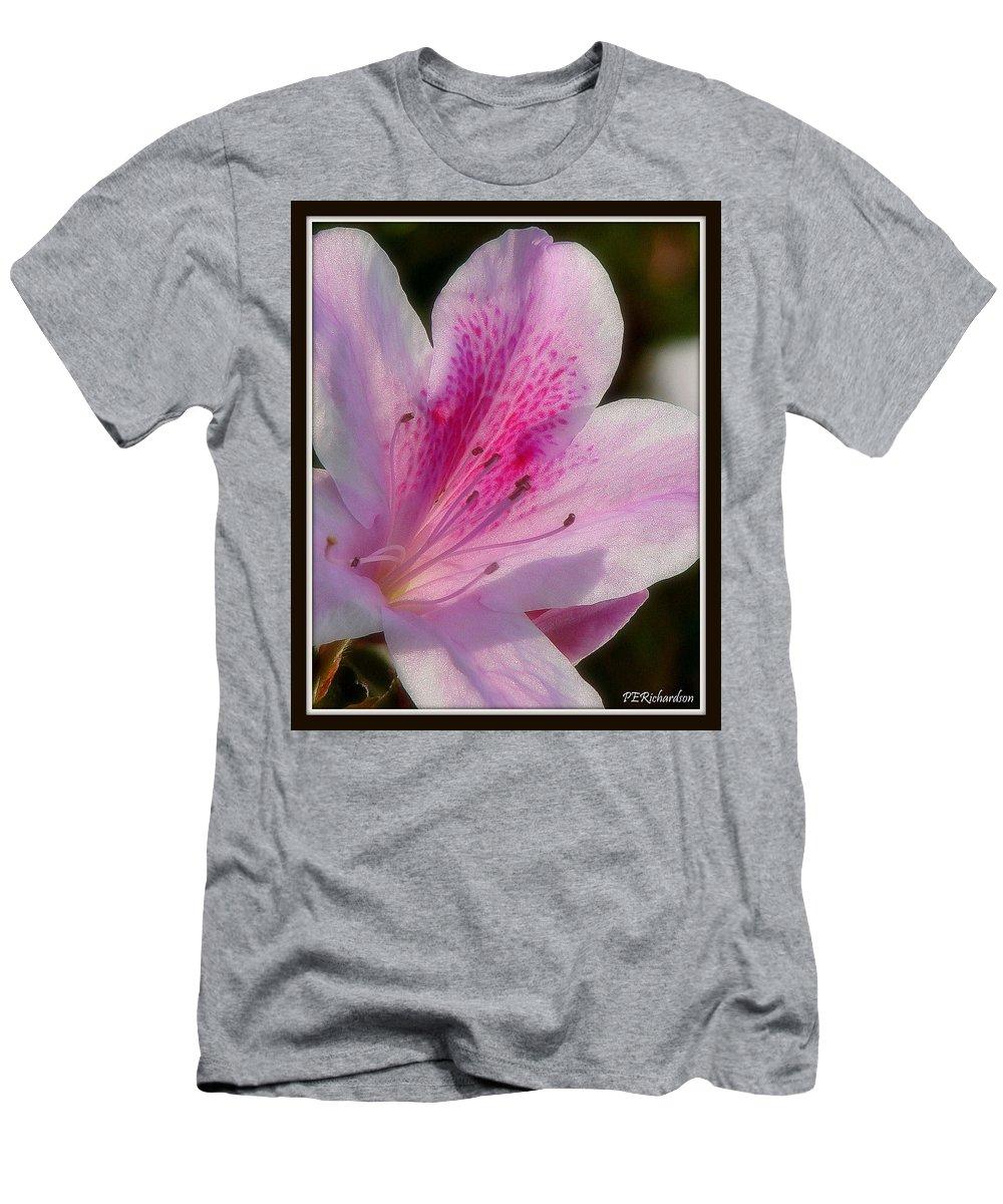 Floret Men's T-Shirt (Athletic Fit) featuring the photograph Floret by Priscilla Richardson