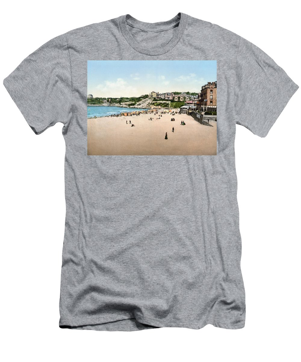 1895 Men's T-Shirt (Athletic Fit) featuring the photograph France: Casino, C1895 by Granger