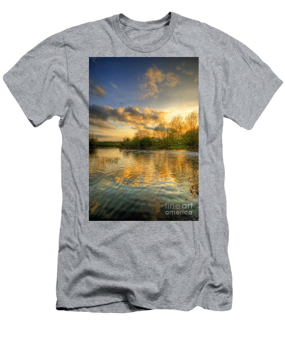 Art Men's T-Shirt (Athletic Fit) featuring the photograph Fresh Start by Yhun Suarez