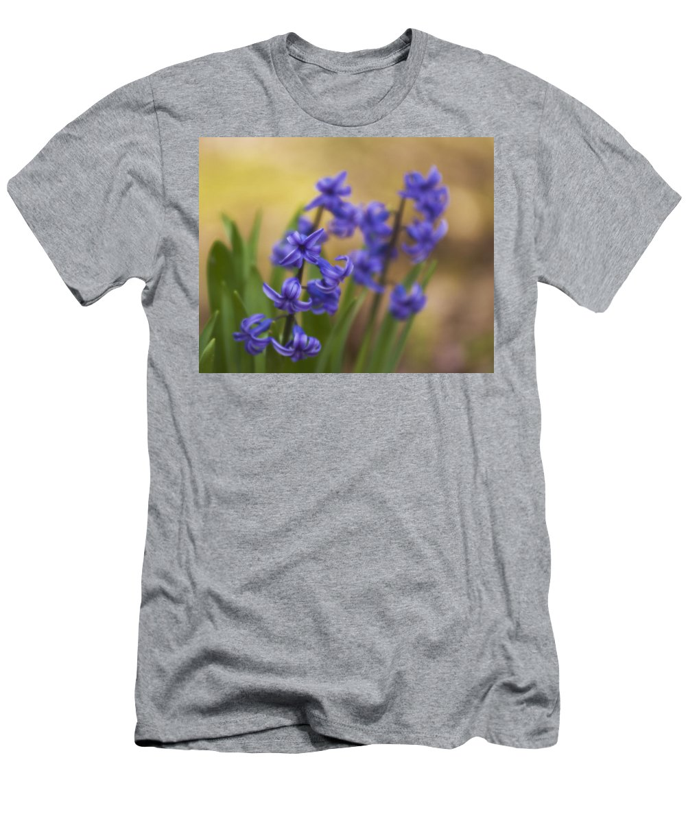 Flowers Men's T-Shirt (Athletic Fit) featuring the photograph From The Garden by Steven Richardson