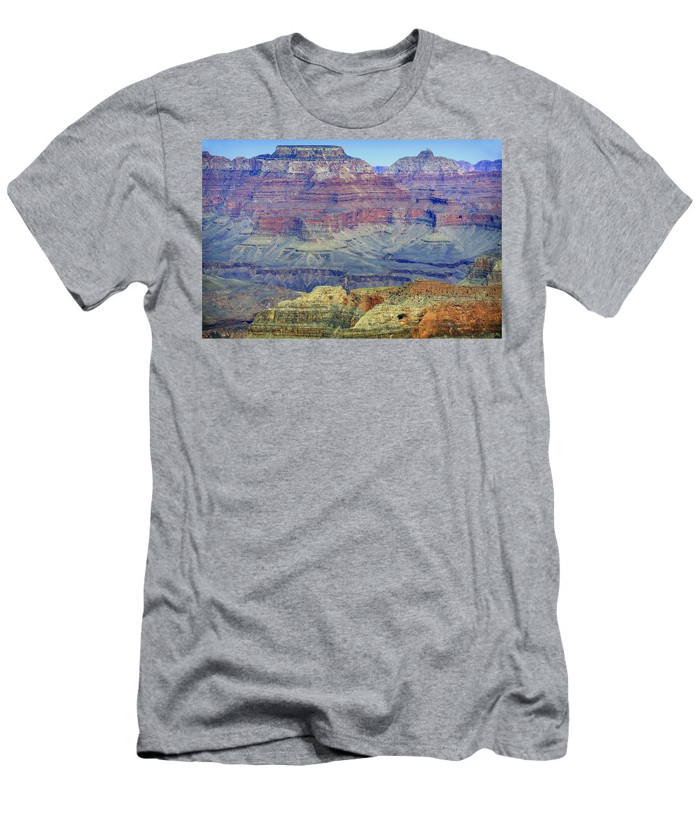 Grand Canyon Men's T-Shirt (Athletic Fit) featuring the photograph Grand Canyon Landscape II by Julie Niemela