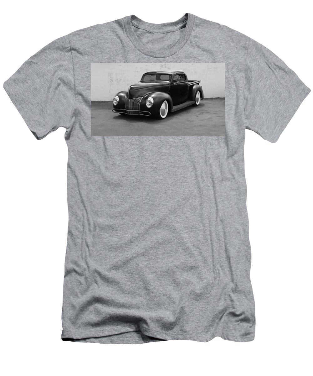 Hot Rod Men's T-Shirt (Athletic Fit) featuring the photograph Hot Rod Pick Up by Rob Hans