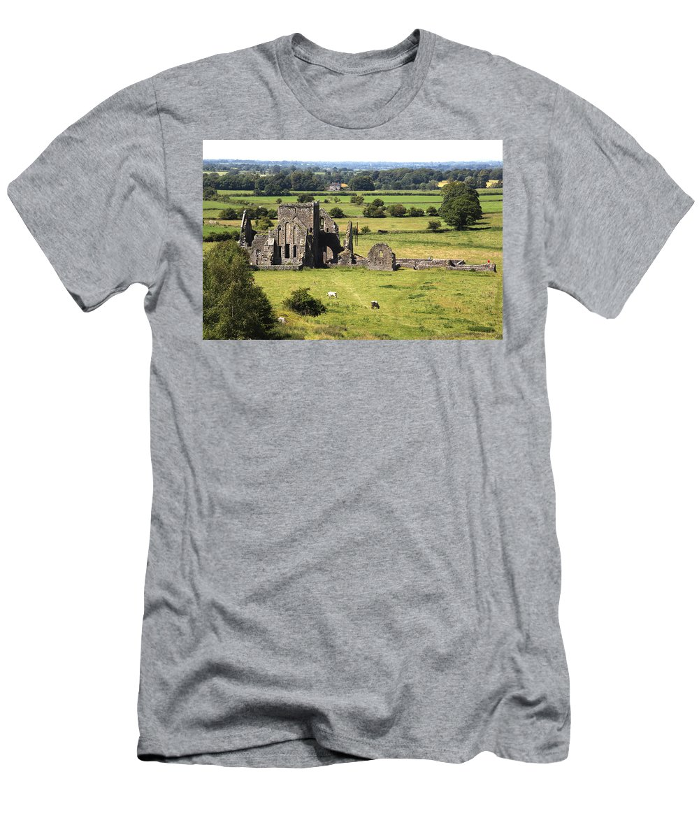 Ireland Men's T-Shirt (Athletic Fit) featuring the photograph Ireland 0005 by Carol Ann Thomas
