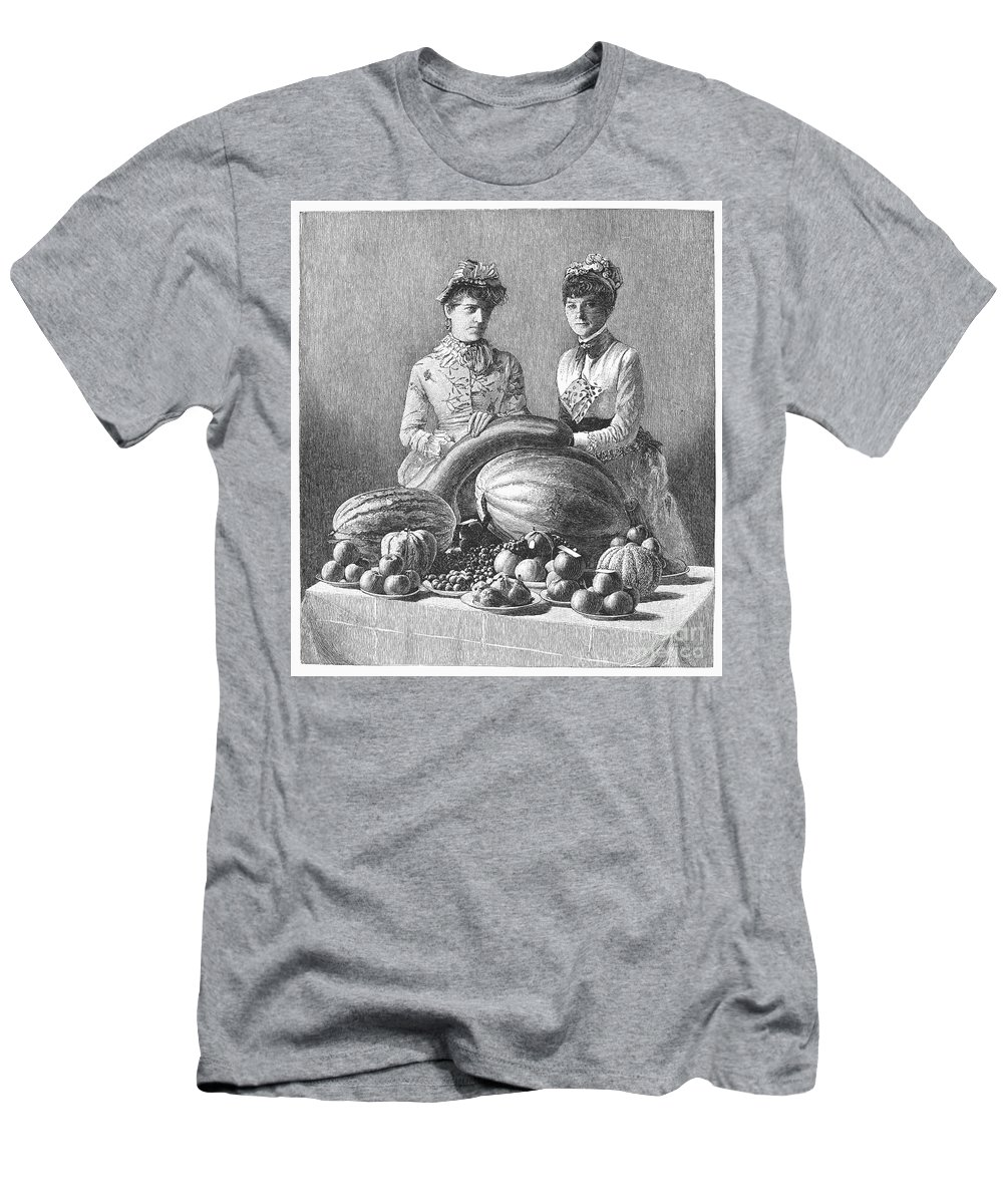 1889 Men's T-Shirt (Athletic Fit) featuring the photograph Kentucky: Fair, C1889 by Granger