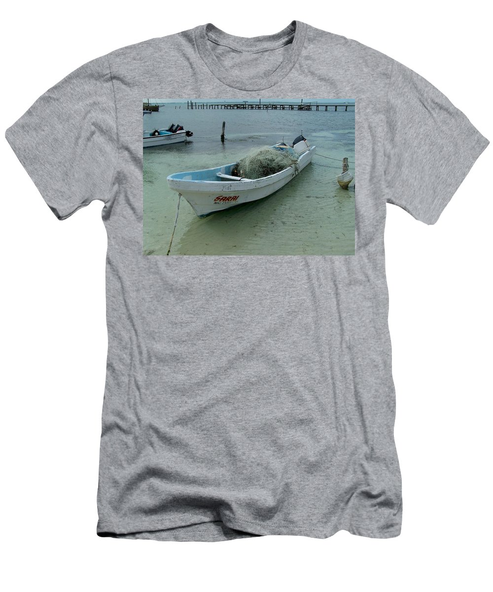 Coast Men's T-Shirt (Athletic Fit) featuring the photograph Living On The Coast by T Campbell