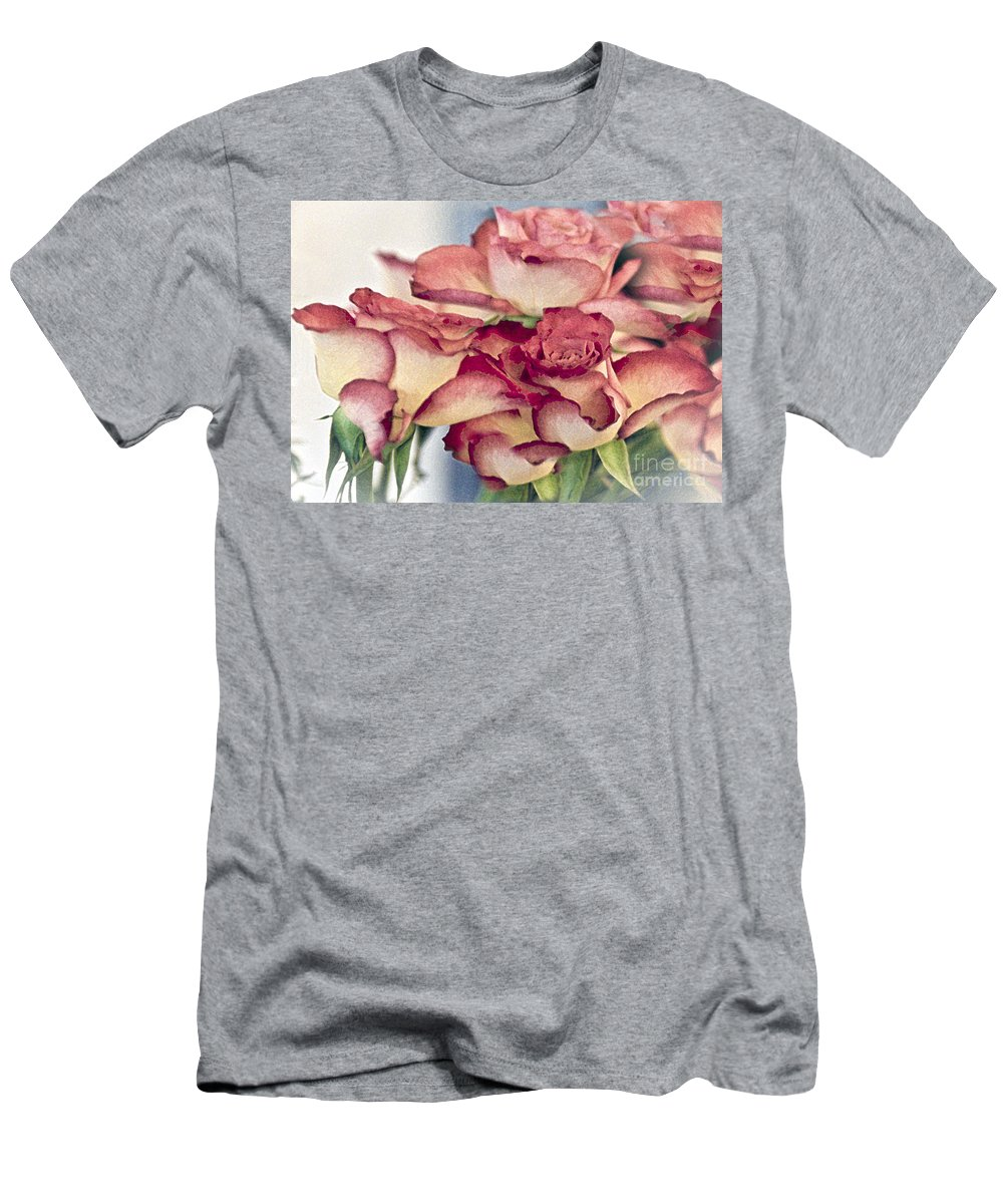 Flowers Men's T-Shirt (Athletic Fit) featuring the photograph Melody by Sheila Laurens