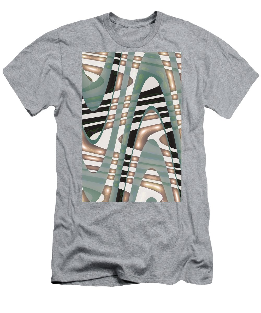 Moveonart! sufficient By Artist Jacob Kane Kanduch -- Omnetra Men's T-Shirt (Athletic Fit) featuring the digital art Moveonart Sufficient by Jacob Kanduch