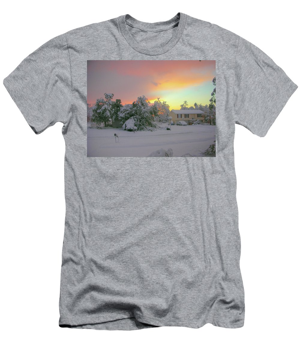 Sky Men's T-Shirt (Athletic Fit) featuring the photograph October Surprise 1872 by Guy Whiteley