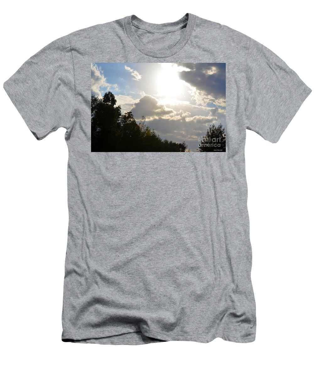 October's Radiance 2012 Men's T-Shirt (Athletic Fit) featuring the photograph October's Radiance 2012 by Maria Urso