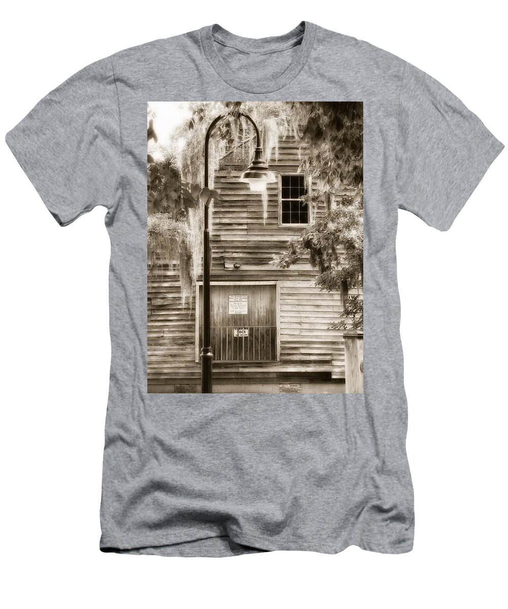 Men's T-Shirt (Athletic Fit) featuring the photograph Old Times by Michele Nelson