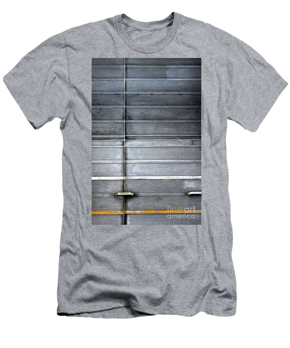 Metal Men's T-Shirt (Athletic Fit) featuring the photograph On Impact by Stephen Mitchell