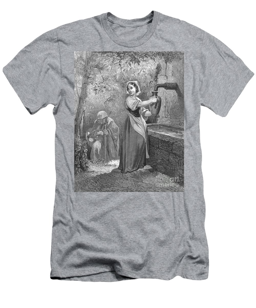 19th Century Men's T-Shirt (Athletic Fit) featuring the photograph Perrault: The Fairies by Granger