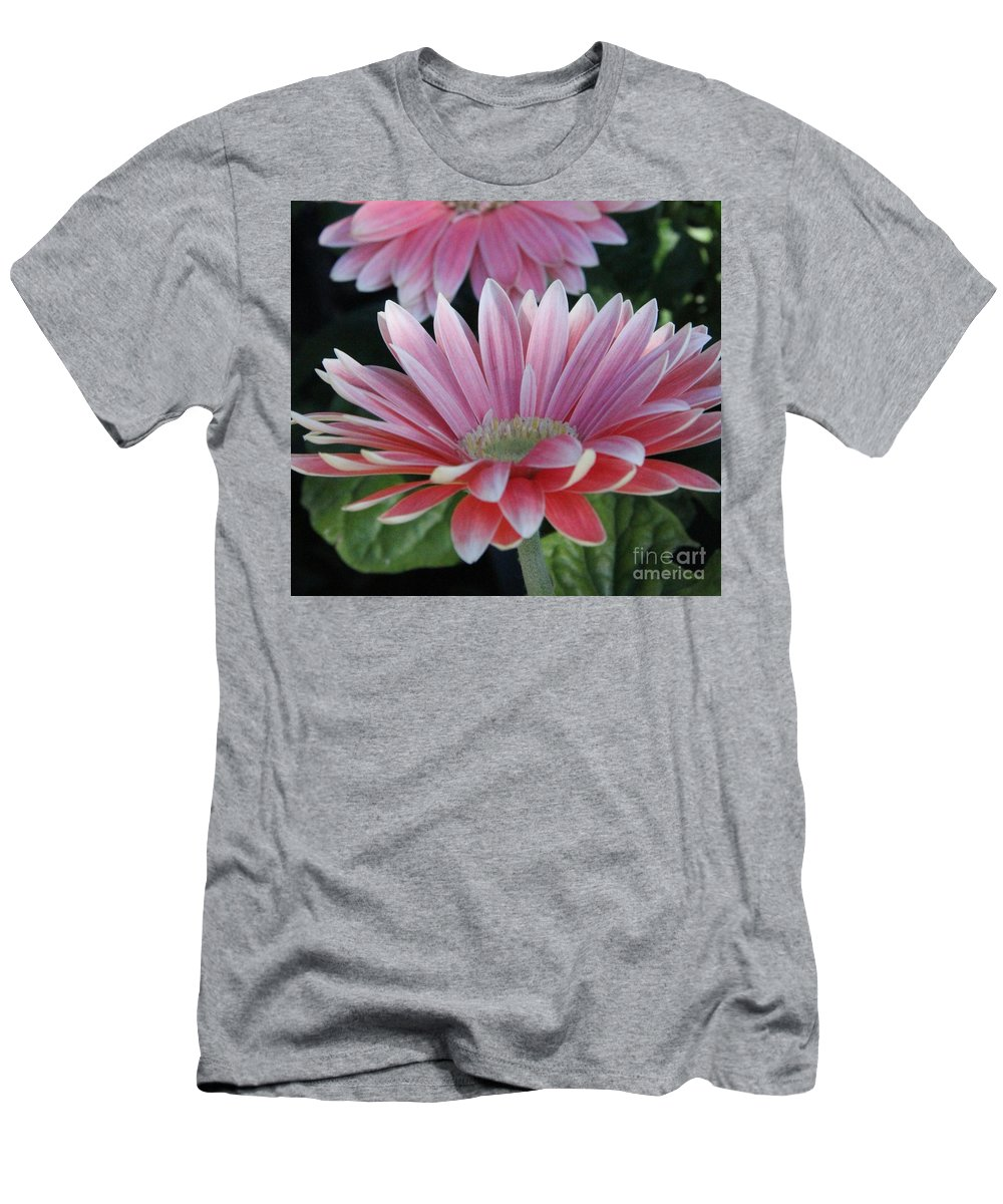 Men's T-Shirt (Athletic Fit) featuring the photograph Pink Petals by Diane Greco-Lesser