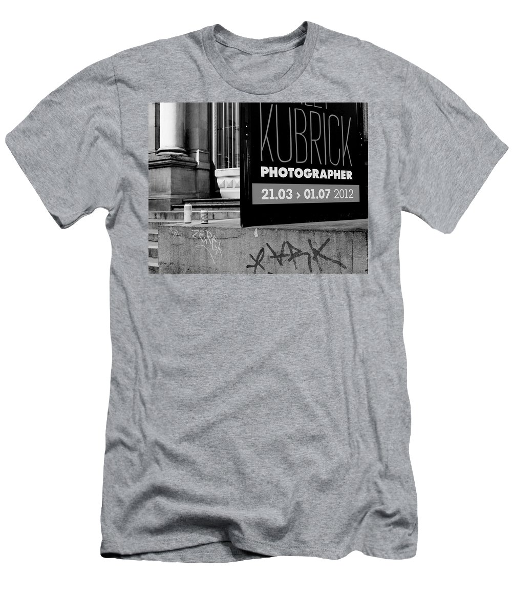 Kubrick Men's T-Shirt (Athletic Fit) featuring the photograph Remembering Kubrick by Donato Iannuzzi