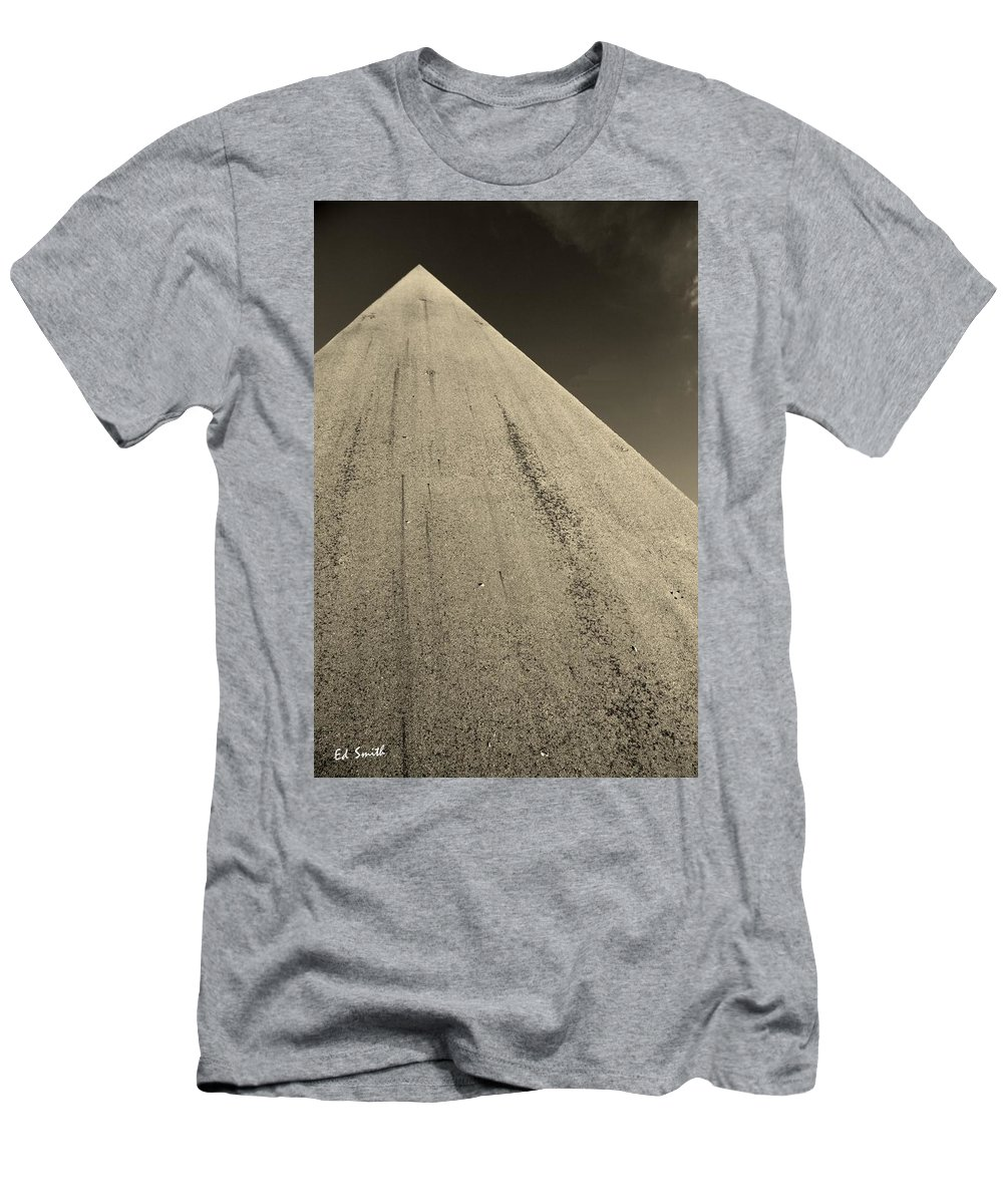 Road To The Gods Men's T-Shirt (Athletic Fit) featuring the photograph Road To The Gods by Ed Smith