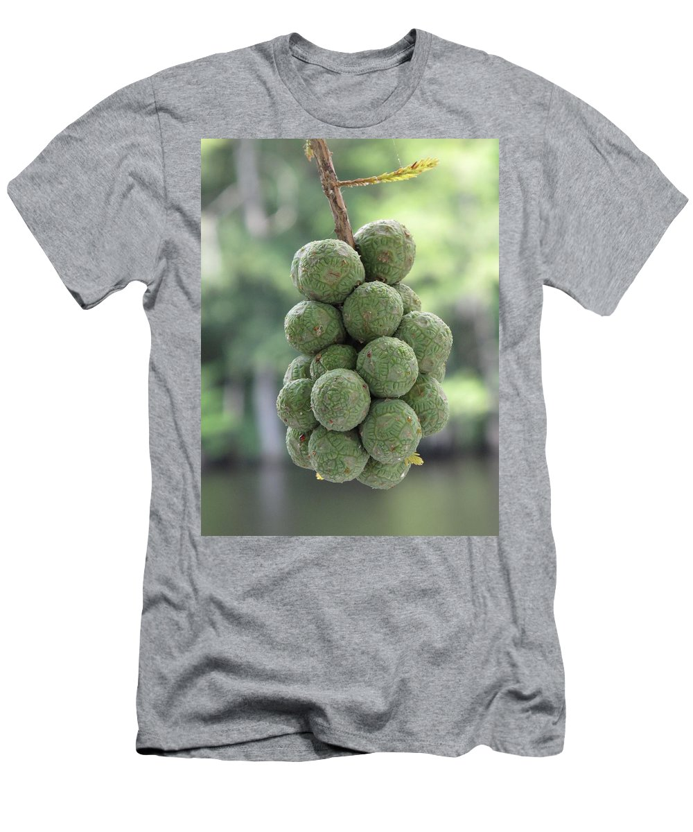 Green Men's T-Shirt (Athletic Fit) featuring the photograph Seedlings by Michele Nelson