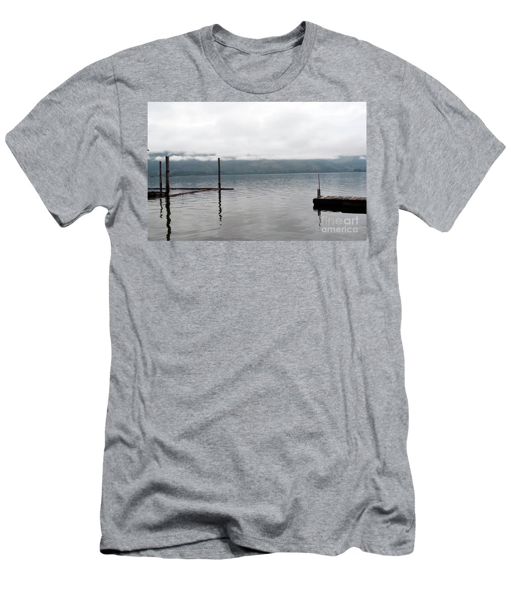 Ocean Men's T-Shirt (Athletic Fit) featuring the photograph Sunrise by Traci Cottingham