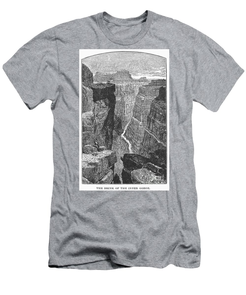 19th Century Men's T-Shirt (Athletic Fit) featuring the photograph The Colorado River by Granger
