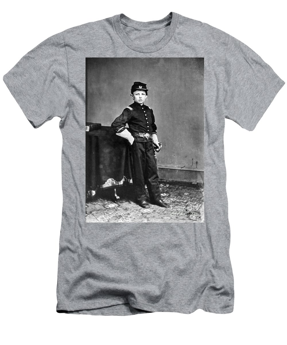 1860s Men's T-Shirt (Athletic Fit) featuring the photograph Thomas Tad Lincoln by Granger