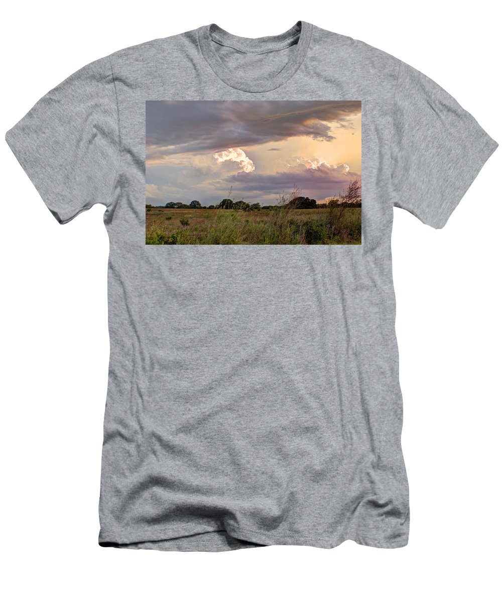 Clouds T-Shirt featuring the photograph Thunderclouds by Beth Gates-Sully