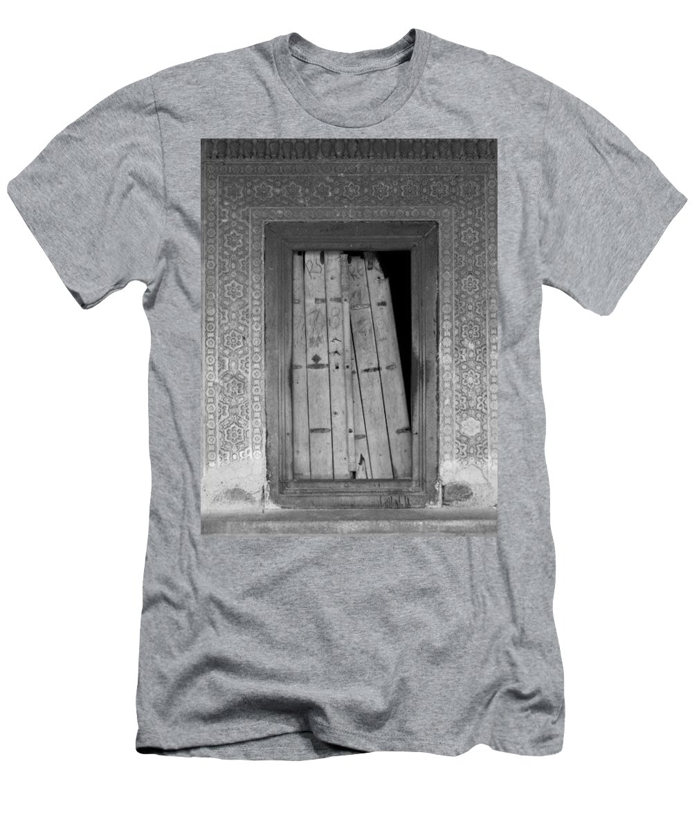 Men's T-Shirt (Athletic Fit) featuring the photograph Tomb Door by David Pantuso