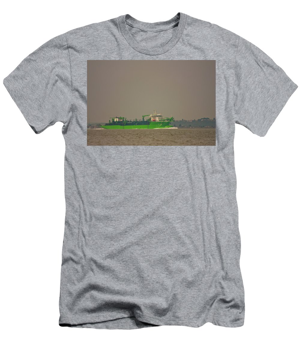 All Hallows Men's T-Shirt (Athletic Fit) featuring the photograph Waste Disposal by Dawn OConnor