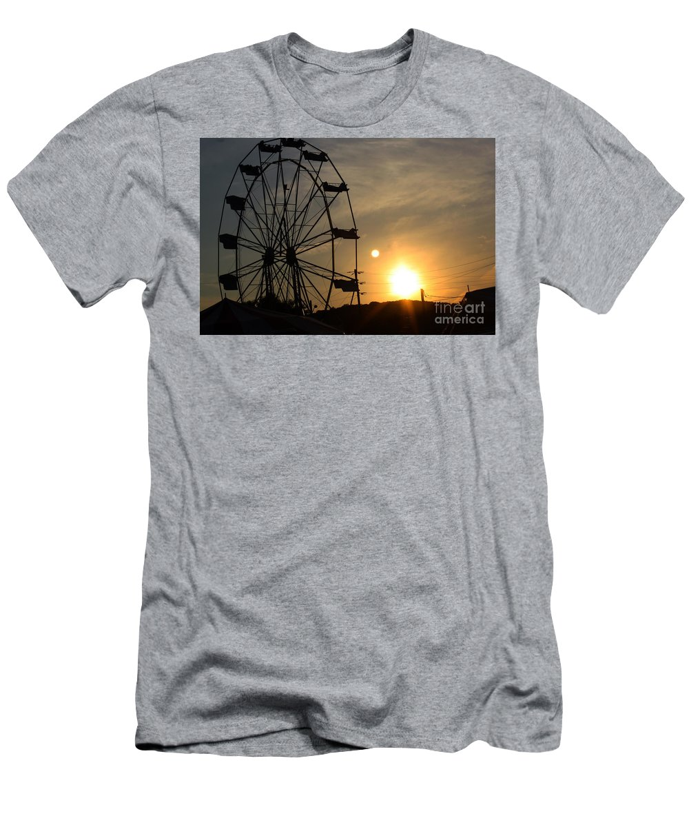 Summer Men's T-Shirt (Athletic Fit) featuring the photograph Where Has Summer Gone by Tony Cooper