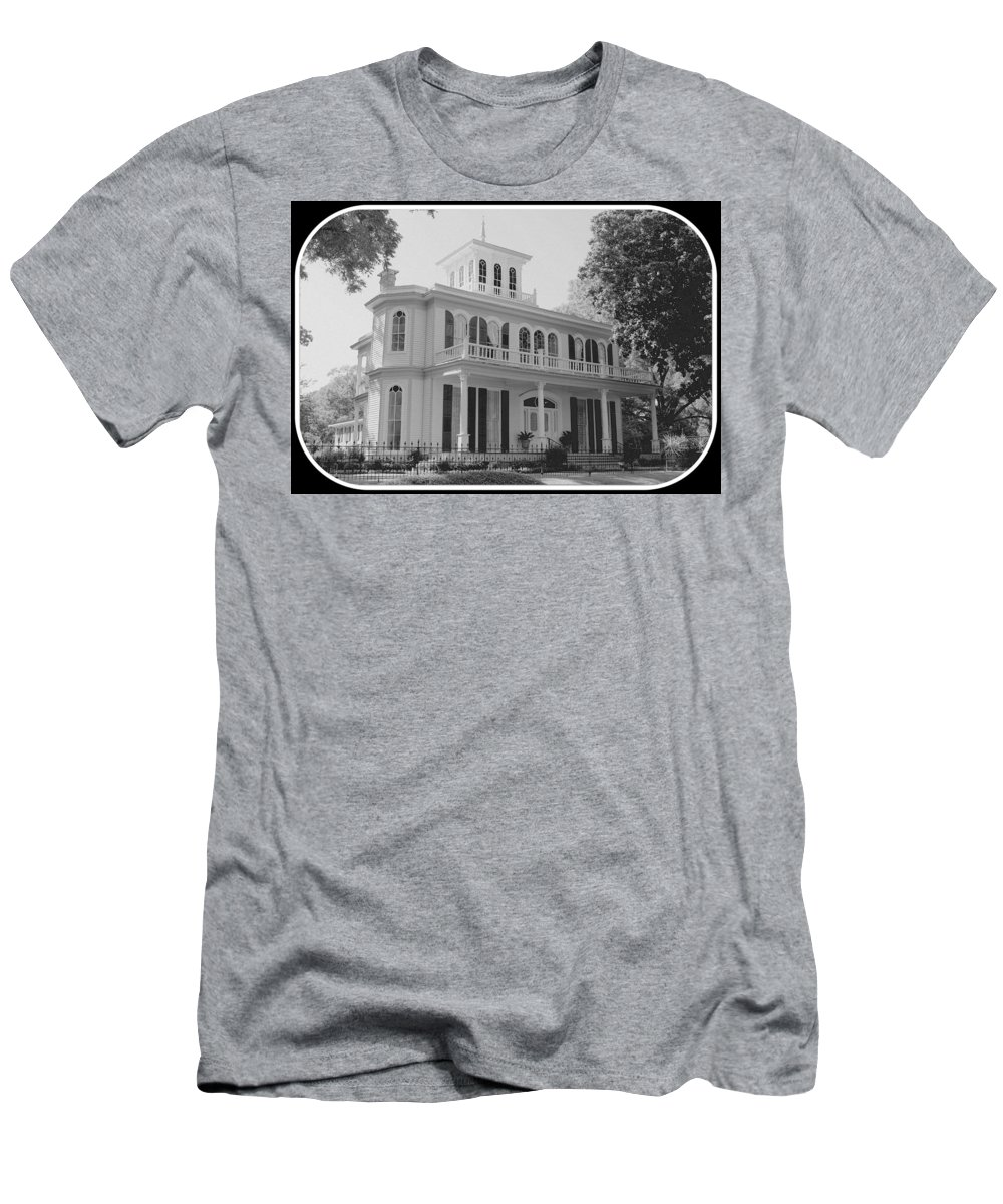 Widow's Walk Men's T-Shirt (Athletic Fit) featuring the photograph Widow's Walk by Betty Northcutt