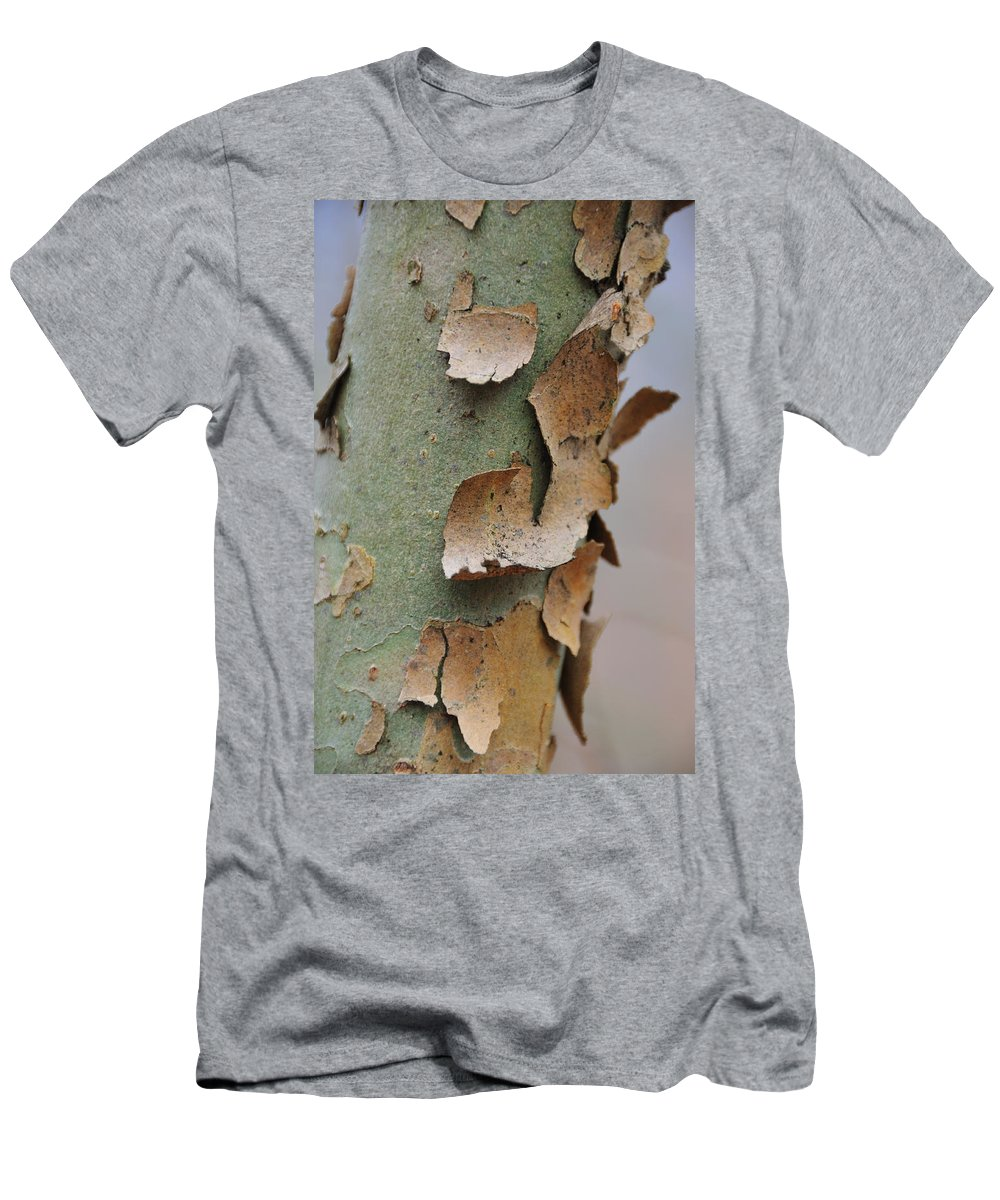 Tree Men's T-Shirt (Athletic Fit) featuring the photograph Bark by David Arment