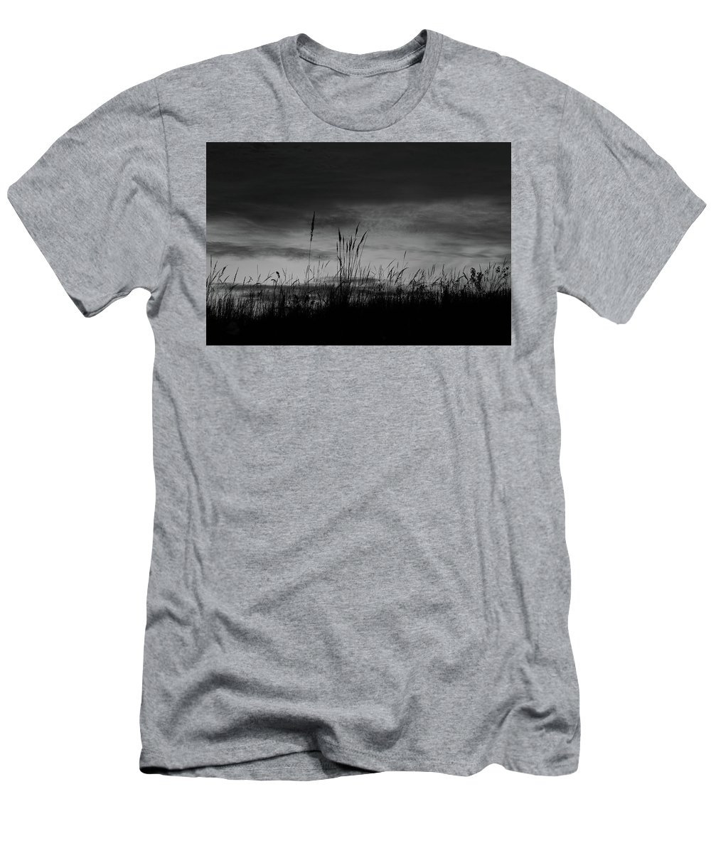 Digital Men's T-Shirt (Athletic Fit) featuring the photograph Darkening by Jeff Roney