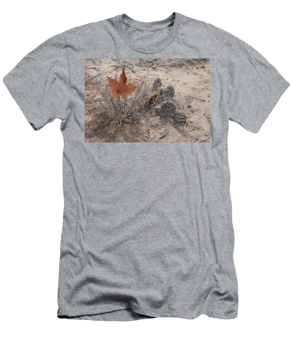 Desert Men's T-Shirt (Athletic Fit) featuring the photograph East Meets West by Rob Hans