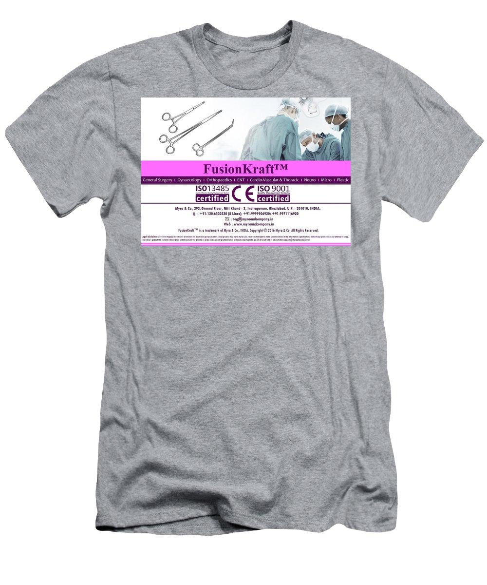 Fusionkraft Men's T-Shirt (Athletic Fit) featuring the photograph Fusionkraft by Ankur Maheshwari