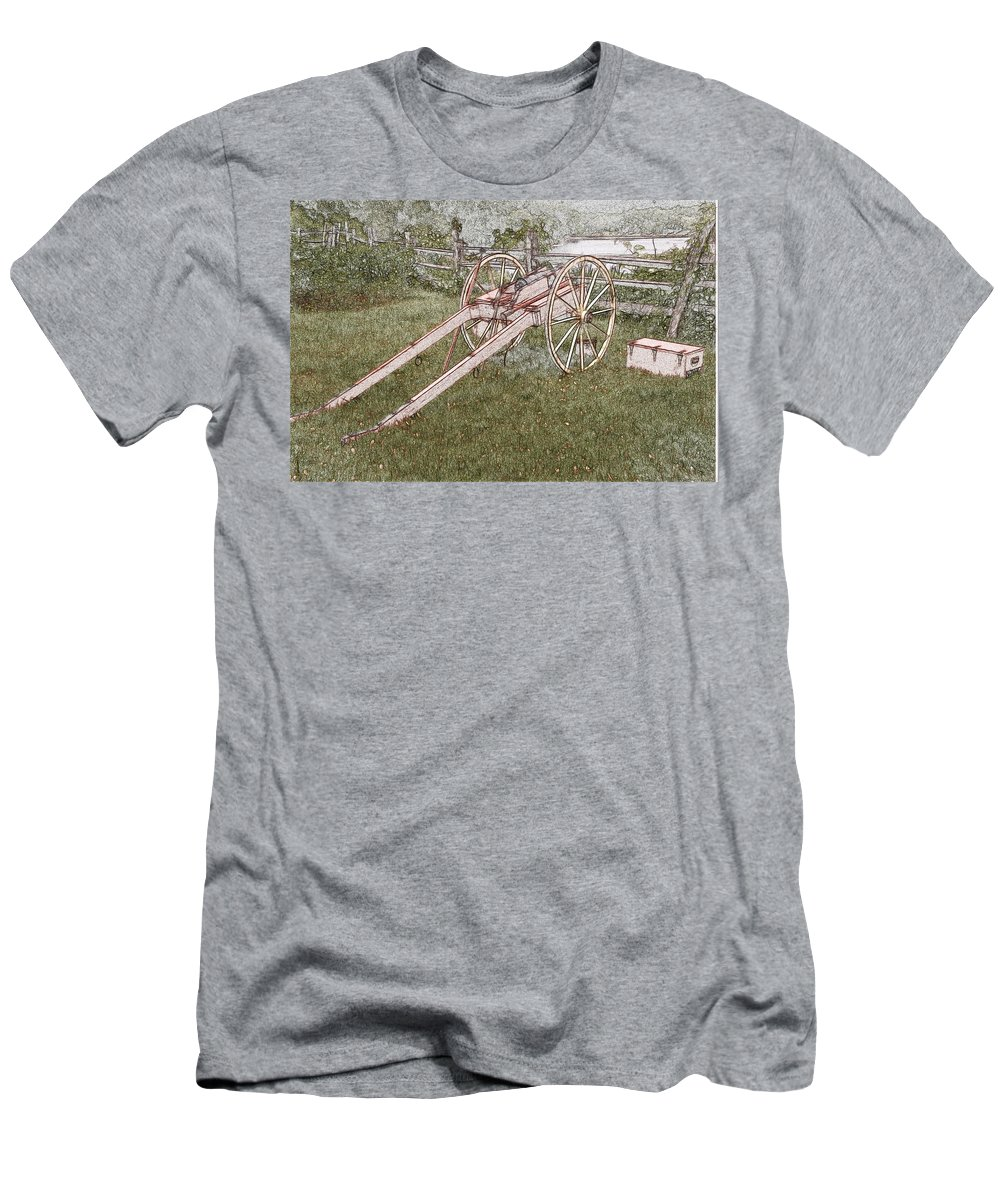 Maggie Men's T-Shirt (Athletic Fit) featuring the digital art Maggie by Robert Nelson