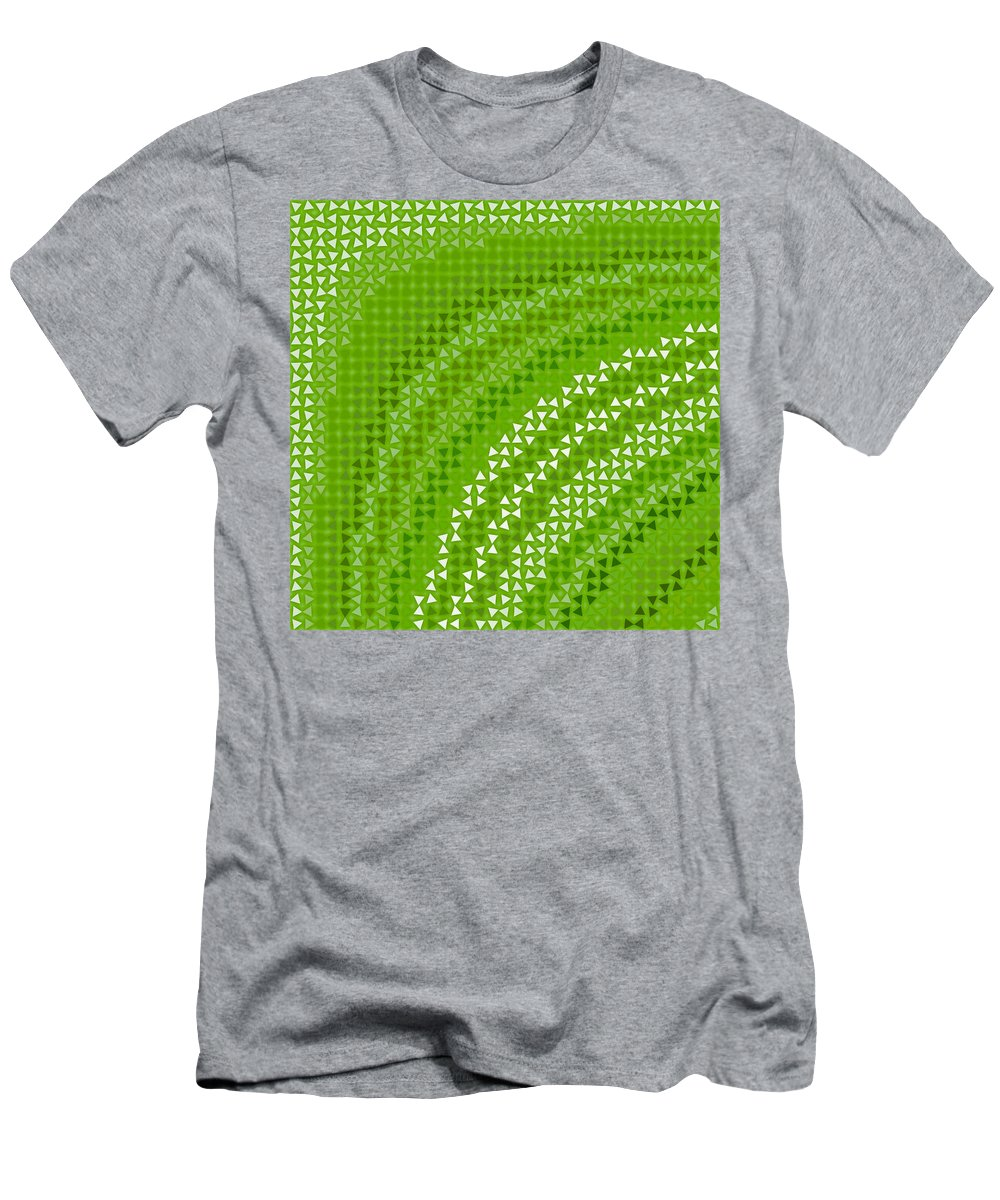 Pattern 79 Men's T-Shirt (Athletic Fit) featuring the digital art Pattern 79 by Marko Sabotin