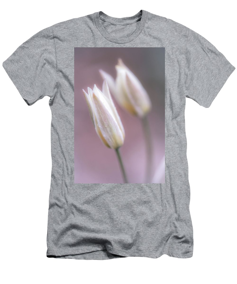 Spring Flowers Men's T-Shirt (Athletic Fit) featuring the photograph Spring Flowers by Lilia D