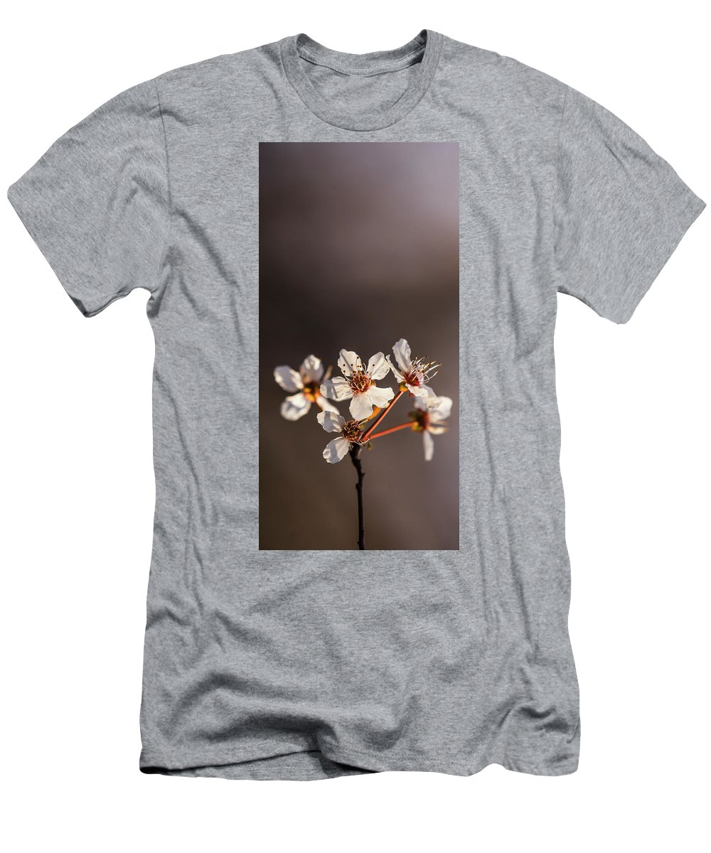 Spring Flowers Men's T-Shirt (Athletic Fit) featuring the photograph Spring Flowers by Vishwanath Bhat