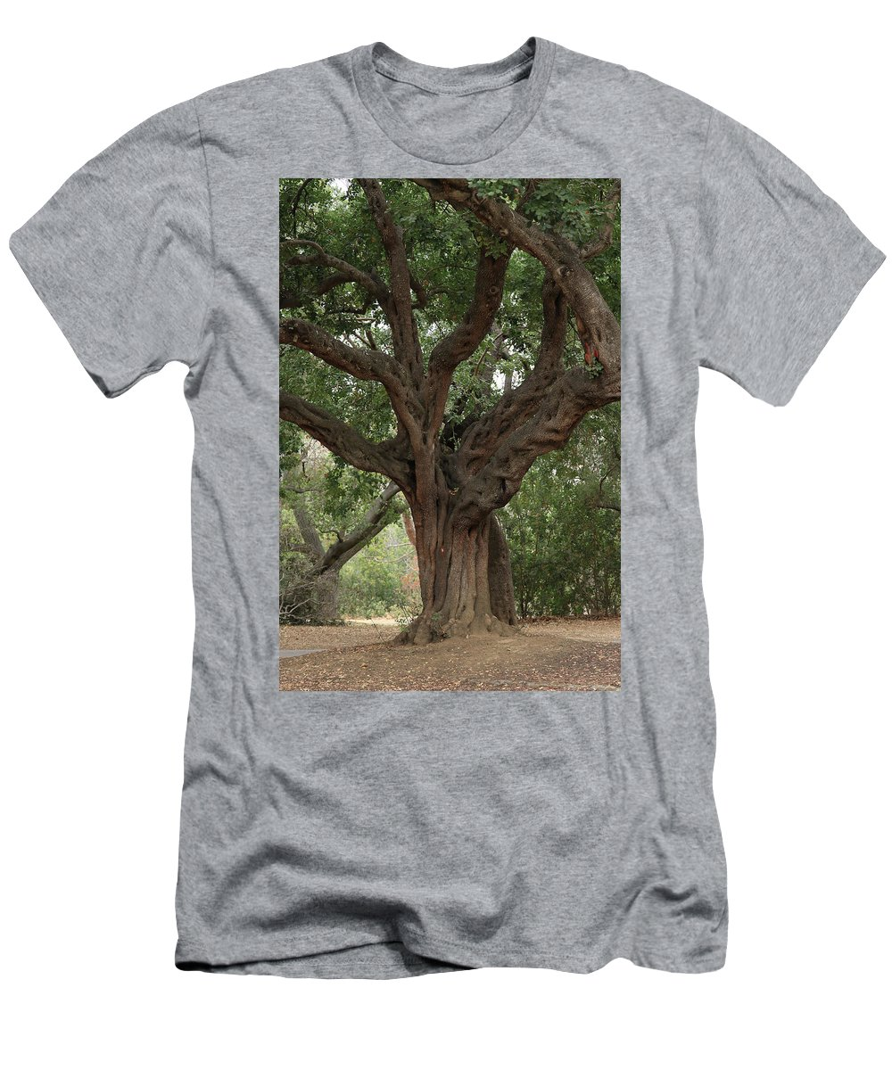 Nature Men's T-Shirt (Athletic Fit) featuring the photograph Test Of Time by Trish Hinze