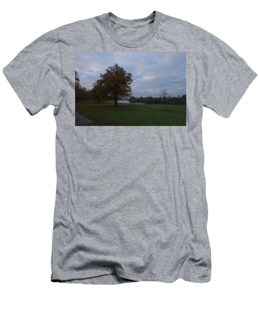 Autumn Men's T-Shirt (Athletic Fit) featuring the photograph That Tree, 26th October, 2015 by Theresa Bristow