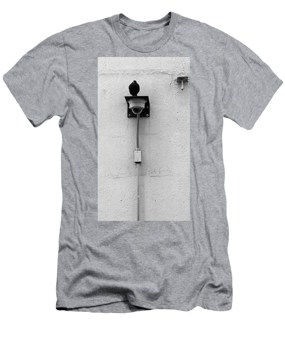 The High Line Men's T-Shirt (Athletic Fit) featuring the photograph The High Line 155 by Rob Hans