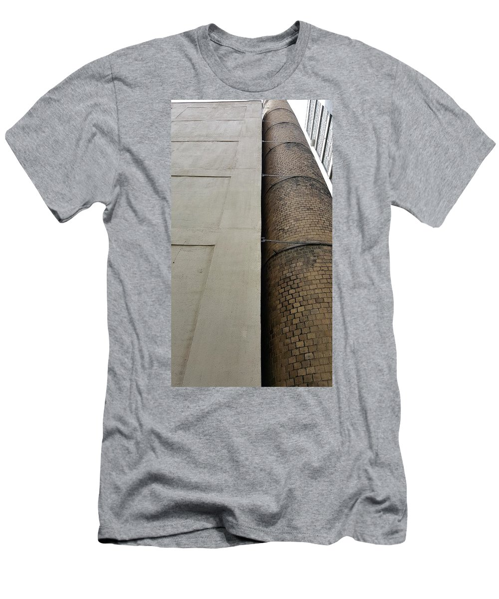 The High Line Men's T-Shirt (Athletic Fit) featuring the photograph The High Line 156 by Rob Hans