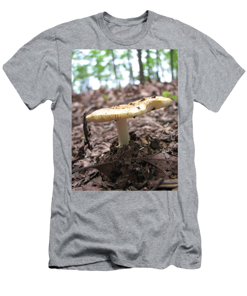Toad Stool T-Shirt featuring the photograph Toad Stool II by Creative Solutions RipdNTorn