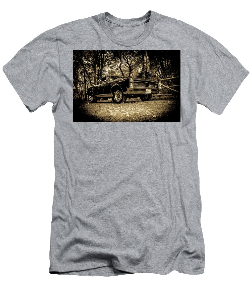 Classic Cars Men's T-Shirt (Athletic Fit) featuring the photograph Classic Cars by Mickie Bettez